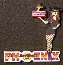 Hard Rock Cafe PHOENIX 7th Anniversary Server Girl Pin