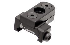 Keymod & Picatinny Rail Swivel Sling Adapter Quick Detach Push BT - Black SWPK01