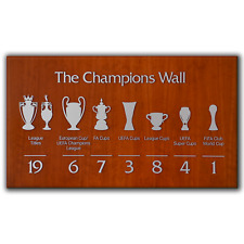 Liverpool FC The Champions Wall 2020 Anfield | Canvas Print Wall Art | 5 Sizes