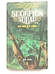 The Scorpion Squad #2 The Nhu Ky Sting Eric Helm VTG Pinnacle 1984