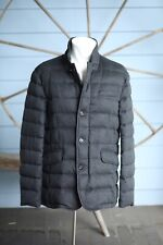 $4,995 Moorer Loro Piana 100% Pure Cashmere Goose Down Jacket XL 44US 54IT Grey