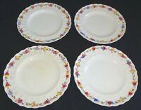 """Spode Copeland England Wicker Rose Set of 4 Salad Plates 7 3/4"""""""