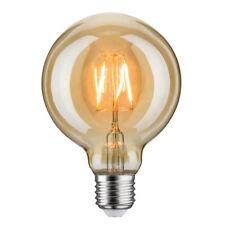 Paulmann Led Filament lumière Or Rétro Globe G95 7,5W W E27 très mince