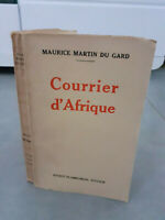 Envoi de l'auteur - Maurice Martin Du Gard - Courrier D'afrique - 1931