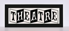 Theatre TV Game Room Sign Light - Classic Nostalgic Light Box Frame with remote