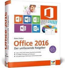 Office 2016 von Robert Klassen (2016, Gebundene Ausgabe)