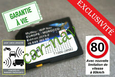 Carte SD Europe édition 2019-2 pour GPS Peugeot Citroën RNEG + Zones à Risques