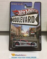 Corvette C6R * Grey/Red * Hot Wheels Boulevard * D24
