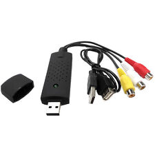 Easycap USB 2.0 Audio Video VHS to DVD Converter Capture Card Adapter/3 Chip BB