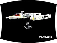 DISPLAY STAND for Star Wars Lego 7658 9495 75172 Y-Wing Starfighter - VERY NICE!