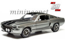 GREENLIGHT 12909 GONE IN 60 SECONDS 1967 FORD MUSTANG CUSTOM ELEANOR 1/18 GREY