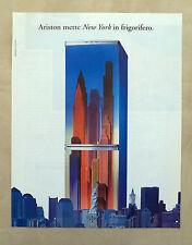 E524 - Advertising Pubblicità - 1997 - ARISTON FRIGORIFERO