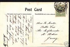 Genealogy Postcard - Family History - Carter - St Helier - Jersey   V223