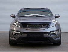 Roadruns Front Hood Radiator Grille For 2011~14 2015+ Kia Sportage R V2 Painted
