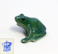 9942243 Porzellan Figur Kleiner Frosch Wagner & Apel H3cm