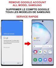 Déblocage unlock compte google  Samsung FRP