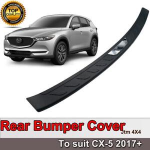Rear Bumper Step Protector Scuff Plate Guard Plate to suit Mazda CX5 CX-5 2017+