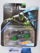 "Hot Wheels DC Universe ""Injustice 2"" Armored BATMAN Toy Car by Mattel"