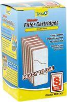 Tetra Whisper Aquarium Filter Cartridge, Small, 12 counts