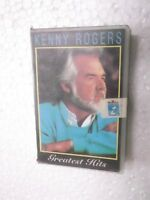 KENNY ROGERS  GREATEST HITS  CLAMSHELL  1998 RARE orig CASSETTE TAPE INDIA