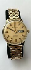 Vintage Accurist Automatic Watch Solid GOLD 9K 21 Jewels Swiss made RARE
