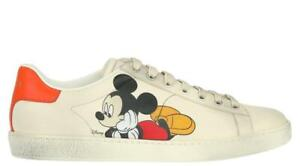 NEW GUCCI DISNEY MICKEY ACE MEN'S SNEAKERS SHOES 10.5 G/US 11