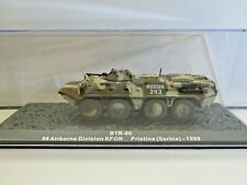 IXO Die-cast Model 1:72 Scale BTR-80 98 Airborne Division KFOR Pristina (Serbia)