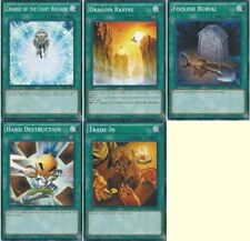 5-Cards: Charge of the Light Brigade, Dragon Ravine, Trade-In, Foolish SR02 set