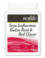 Zestlife Soya Isoflavones Kudzu Root & Red Clover 90 tablets menopause, joints