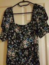 Zara floral print dress Size M  763/289/330
