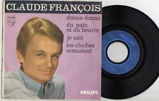 CLAUDE FRANCOIS DONNA DONNA FRENCH EP REEDITION POCHETTE GRANULEE