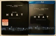 HEAT BLU RAY 2 DISC SET DIRECTORS DEFINITIVE EDITION + SLIPCOVER SLEEVE FREESHIP