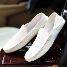 UK Mens Slip On Casual Shoes New Designer Loafers Driving Shoes Moccasin Size