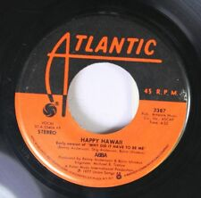 Rock 45 Abba - Happy Hawaii / Knowing Me, Knowing You On Atlantic