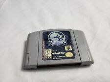 Mortal Kombat Mythologies: Sub-Zero Nintendo 64 N64 VIDEO GAME