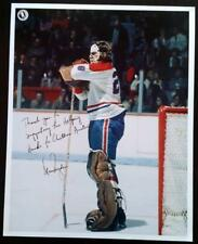 "Fantastic Ken Dryden ""The Pose"" Signed 8x10 Montreal Canadiens Hockey Photo !"