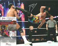 Rob Van Dam RVD Signed Auto 8x10 Photo WWF WWE ECW Wrestling JSA COA