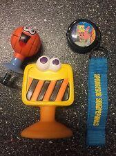Universal Studios Spongebob Squarepants Key Chain W Light Plus 2 Figurines
