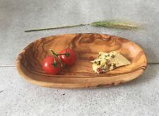 Kleine Schale Olivenholz / Tapas-Schale / Snack-Schale / Konfektschale