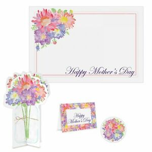 Happy Mothers Day Place Setting Kit