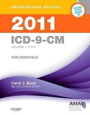 ICD-9 PROF VERS VOLS 1, 2 And 3: 2011 ICD-9-CM, for Hospitals Vols. 1-3 by Carol