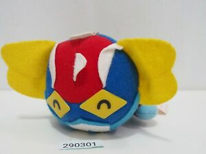 """Mazinger Z 290301 Robot Go Nagai Flying Banpresto 1992 Plush 5"""" Toy Doll Japan"""