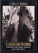 EL ACORAZADO POTEMKIN de Eisenstein. España tarifa plana envíos DVD 5 €