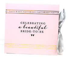 """Celebrating A Beautiful Bride To Be Hen Party Photo Album Book Pink Gift 4"""" x 6"""""""