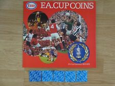 ESSO 1872-1972 FA CUP CENTENARY COIN COLLECTION RARE RED + 5 FREE UNOPENED COINS