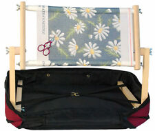 Siesta Frames LAPM15/1 | Lapman 15in Tapestry Stand | Burgundy Case 38 x 53 cm
