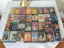 Cassette Tapes Job Lot / Easy Listening Music Tapes / Various Artists