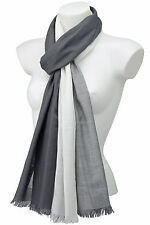 Cotton Blend Patternless Pashmina Scarves & Shawls for Women