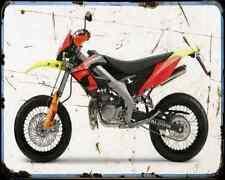Derbi Senda Drd Pro  1 A4 Metal Sign Motorbike Vintage Aged