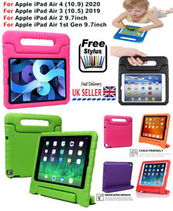 """TOUGH KIDS SHOCKPROOF EVA STAND CASE COVER FOR APPLE iPad Air 1 2 3 4 10.9"""" 10.5"""